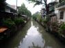 een typisch beeld in Bangkok
