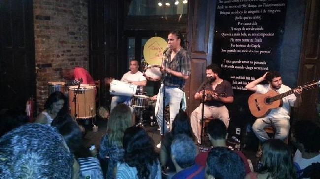 Samba in Lapa