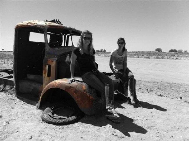 Outback met Manou