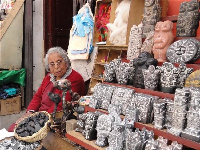 heksenmarkt in La Paz