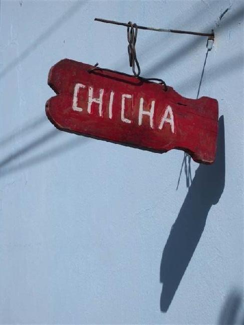 chicha, de lokale alcoholische drank