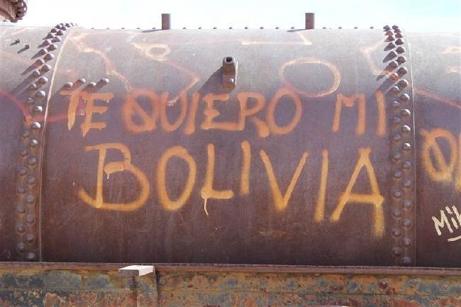 ik hou van je mijn Bolivia