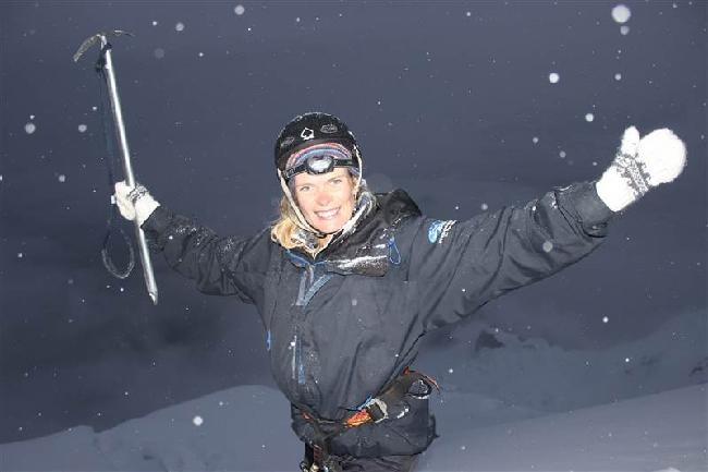 On top of the world!!! 6088 meter!!!