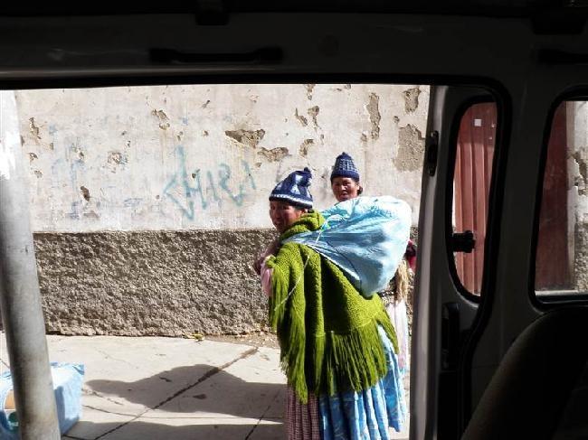 La Paz, vanuit de trufi