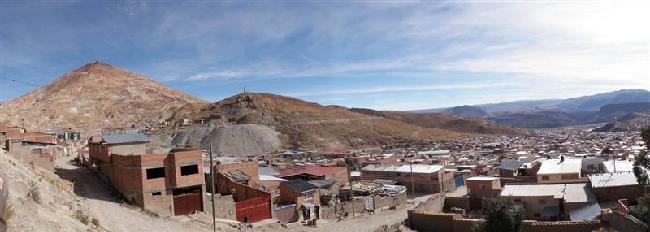 De mijnberg en Potosi