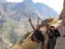 Joke en Joyce in de canyon