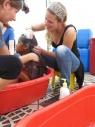 kindjes wassen op plaza principal