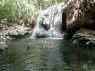 hot waterfall Finca El Paraiso