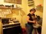 Mijn 'moeder' in de keuken