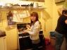 Dulce in de keuken