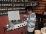 Giovanni aan het koken