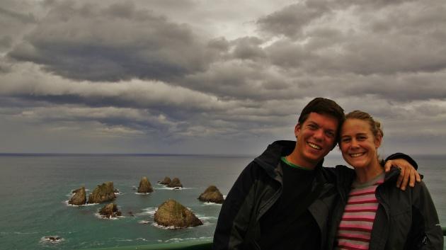 Het zuidelijkste puntje van het Zuidereiland van Nieuw Zeeland!!!!