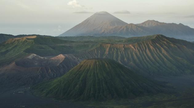 De prachtige Bromo vulkaan :)