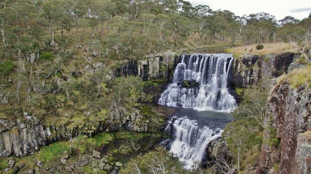 Ebor Falls, fantastisch mooi!!