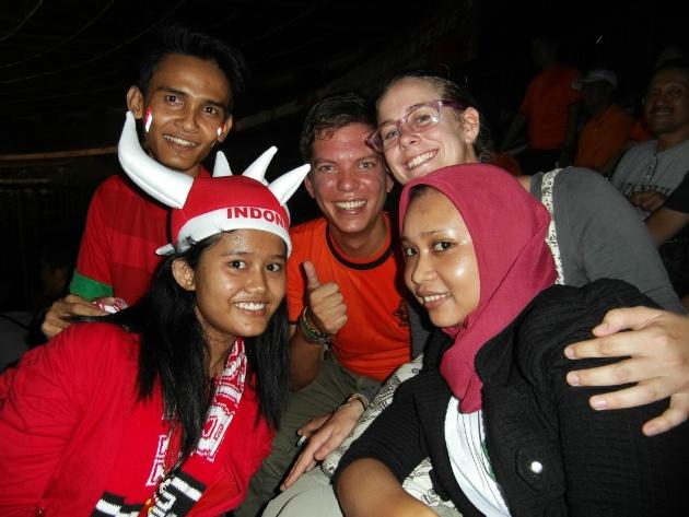 Garuda vs Oranje in Jakarta