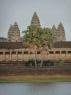 Angkor Wat bij zonsondergang