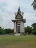 het monument met duizenden schedels binnenin